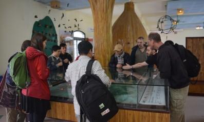 Hoạt động khảo sát hiện trường để thành lập Trung tâm cứu hộ, bảo tồn Sao La tại vườn quốc gia Bạch Mã