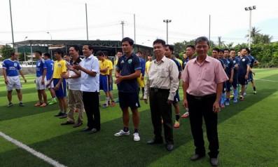 Công đoàn cơ sở Vườn quốc gia Bạch Mã tham gia giải bóng đá nam Hội thao truyền thống Công đoàn viên chức tỉnh Thừa Thiên Huế lần thứ XI năm 2017