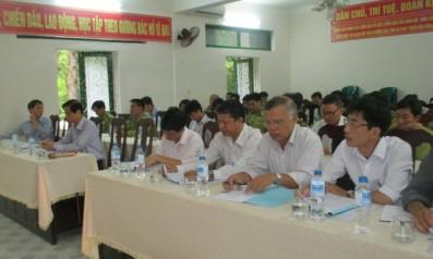 Đảng ủy Vườn quốc gia Bạch Mã tổ chức Hội nghị sơ kết thực hiện nhiệm vụ chính trị 06 tháng đầu năm  và xây dựng nhiệm vụ trọng tâm 06 tháng cuối năm 2016.