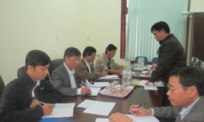 Cụm Công đoàn cơ sở trực thuộc Liên đoàn lao động tỉnh TT Huế tổ chức Hội nghị tổng kết việc thực hiện giao ước thi đua của Cụm năm 2016