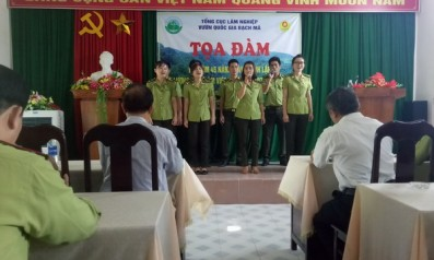 Vườn quốc gia Bạch Mã tổ chức kỷ niệm 45 năm ngày thành lập lực lượng Kiểm lâm Việt Nam (21/5/1973 – 21/5/2018) và 26 năm thành lập lực lượng Kiểm lâm Bạch Mã